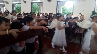 Đóa Hoa dâng Mẹ + Dâng mẹ Gia Đình và Giáo Xứ con - giáo khu Giánh sinh + Huynh Trưởng GX Phong Cốc
