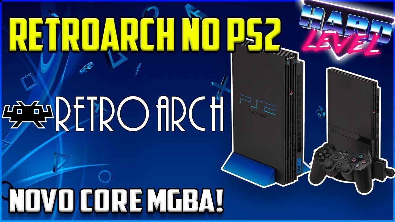 Retroarch no PS2 - Novo core! mGBA Game Boy Color e Game Boy Advanced!