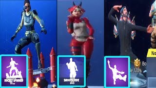 *NEW* Fortnite Season 4 EMOTES/DANCE IN REAL LIFE (SQUAT KICK,SNOOP DOG(TIDY),ROCKET SPINNER)