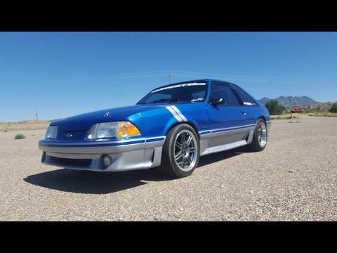 How to adjust the idle on a Foxbody Mustang GT - YouTube