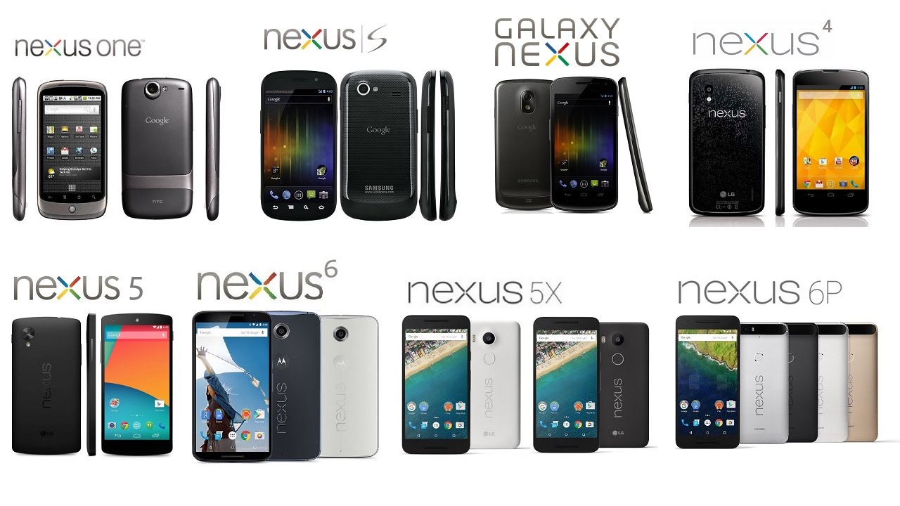 google nexus all generations   youtube