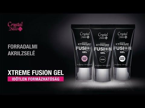 Francia műköröm Xtreme Fusion Gel AkrilZselével