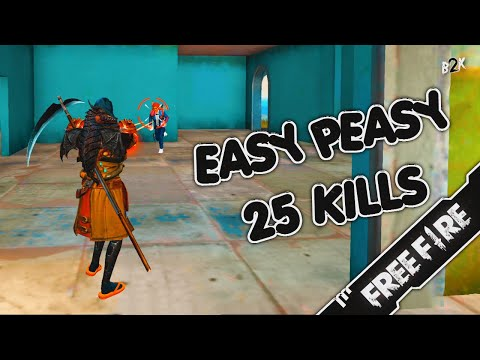 [B2K] فقدت السيطرة   EASY PEASY 25 KILLS GAMEPLAY