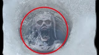 5 Strange Things Mysteriously Found Frozen In Ice