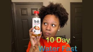 10 Day Water Fast Results| Before & After