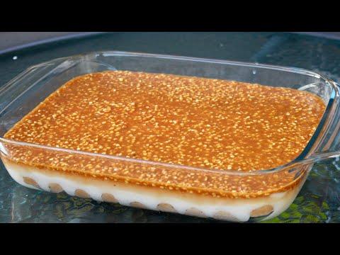 🔈-le-gâteau-sans-cuisson-✅-prêt-en-5mn-avec-très-peu-d'ingrédients-💯