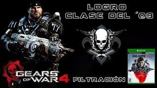 Gears of War 4 l Sacando el Logro l Clase del ´08  l Se filtra la fecha de #Gears5 l1080p Hd