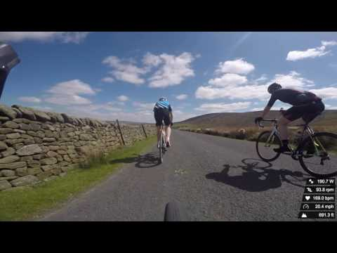 Trough of Bowland cycling climbs