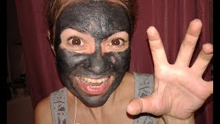 ELIZAVECCA! ТЕСТ-ДРАЙВ! Крутая черная маска с ПУЗЫРЯМИ из Кореи! K-beauty