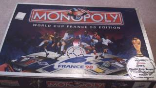 FIFA World Cup Monopoly Unboxing LIMITED EDITION