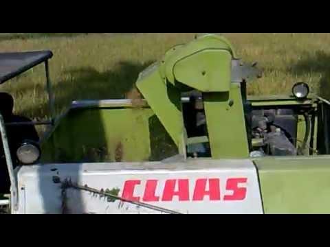 Crop Tiger 30 Terra Trac Claas Harvesting Youtube