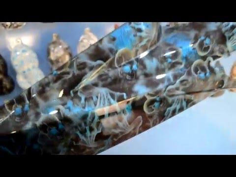 Sample Output: Suzuki Raider 150 on Blue Crawling Skulls