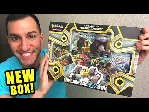 *NEW POKEMON MELTAN!* Opening a Pokemon Cards MELMETAL GX BOX of Team Up AT TARGET STORE!
