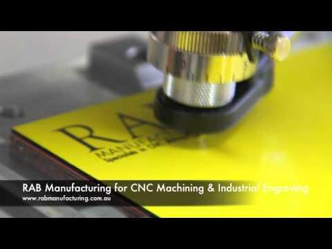 RAB Manufacturing - Engraving Brisbane