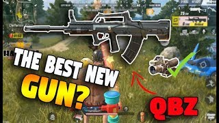 IS QBZ THE BEST NEW GUN IN ROS?? (Rules of Survival: Battle Royale)