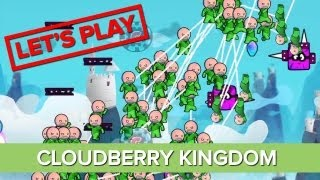 Let's Play Cloudberry Kingdom - Co-op Gameplay - Bungee Mode