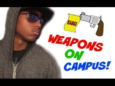 MAKING WEAPONS Out Of School Supplies!