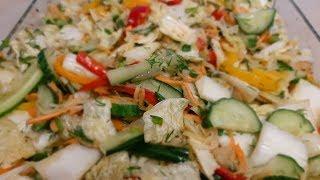 Очень вкусный салат ВЕСЕННИЙ