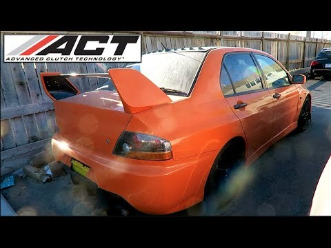 Pumpkin Evo 8 - ACT 6 Puck Clutch
