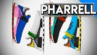 "*OFFICIAL* Pharrell Williams Human Race ""Inspiration Pack"" Release Information & First Look!"