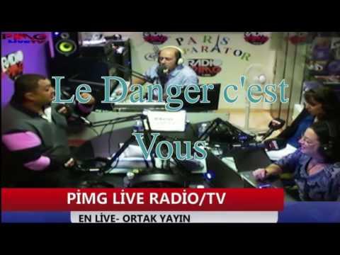 Ghazli dérape face a une femme en direct sur PIMG Radio