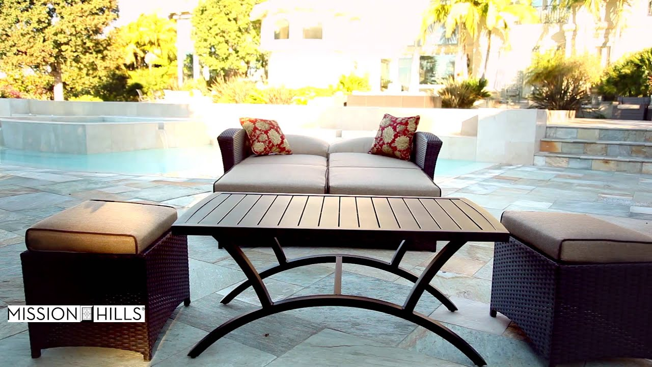 Santa Fe 6 Piece Patio Deep Seating Set By Mission Hills