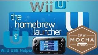 Wii U Homebrew Launcher und Spiele kostenlos auf Wii U installieren Tutorial Part 1