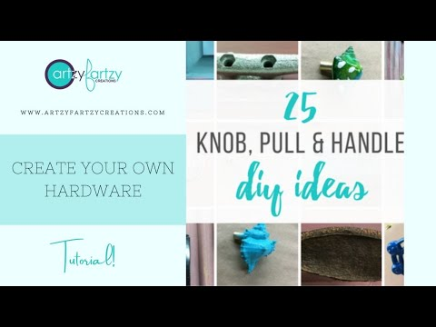 DIY Furniture Hardware + Pull Ideas with Cheryl Phan