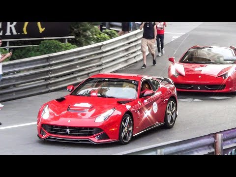 GP F1 Monaco Montecarlo 2017 - Supercars Day Spotting