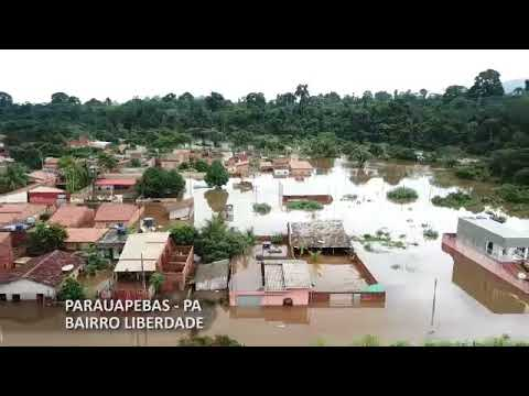 Resultado de imagem para enchente em parauapebas 2018