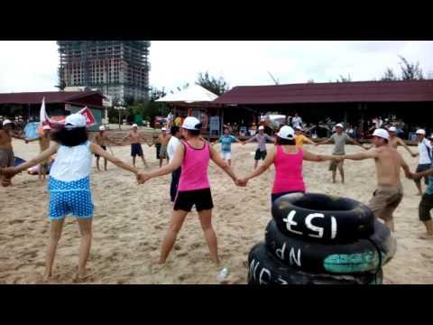 Loscam Team-Vung Tau. Tro Choi Song Bien