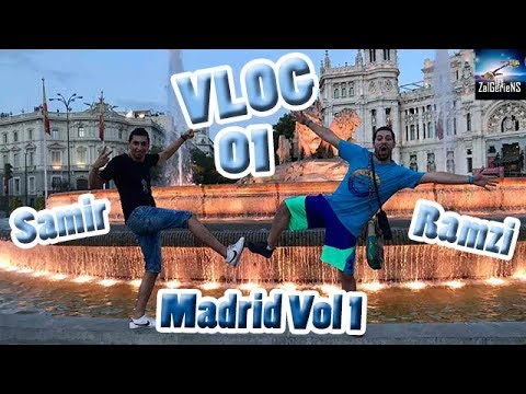 SAMIR & RAMZI Vlog Madrid Episode 1 by Zanga Crazy Officiel