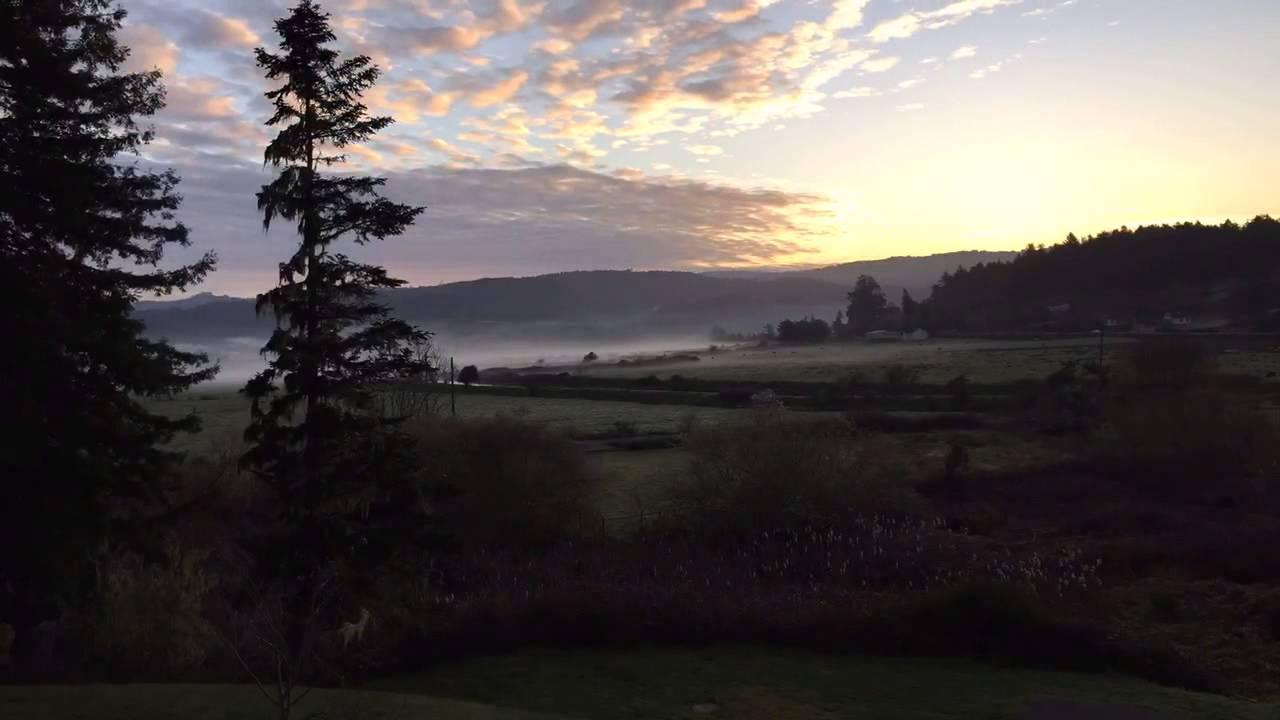Beautiful Northern California Drop Top: Beautiful Time Lapse Of Northern California Sunrise