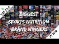 Top 5 Biggest Sports Nutrition Brand Winners in 2018