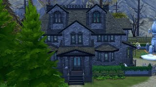 The Sims 4: Building New 100 Baby Challenge House (Streamed 2/16/18)