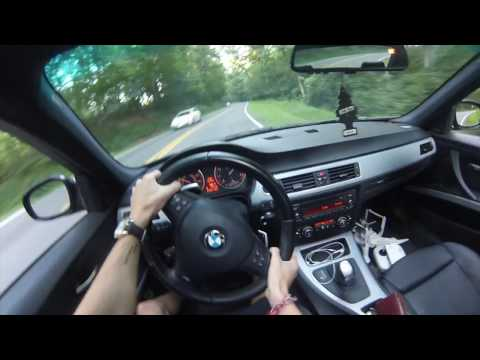 2011 BMW M SPORT POV BMW PERFORMANCE EXHAUST