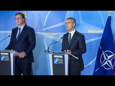 NATO Secretary General with the President of Serbia, 15 NOV 2017