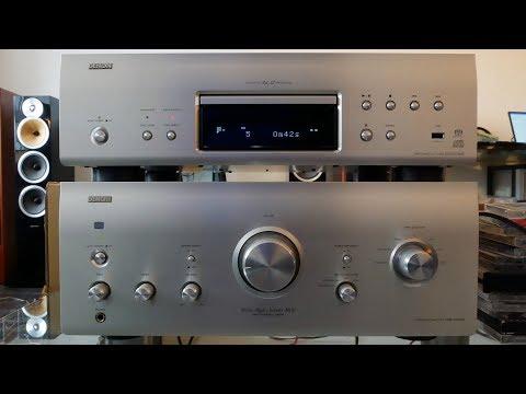 Denon PMA-2010AE & Denon DCD-2010AE on B&W CM9 review