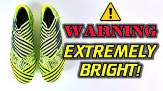 Brightest boots ever! - adidas nemeziz 17+ 360agility (solar yellow) - review + on feet
