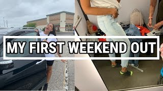 VLOG PART I | MY 1ST WEEKEND OUT IN 2 YEARS