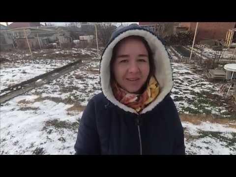 Славянск-на-Кубани.9 февраля.Почему люди уезжают обратно? Зима на Кубани.Заметает снегом.