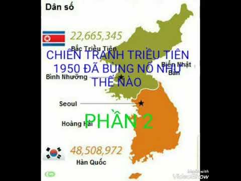 Chiến tranh Triều tiên 1950 đã bùng nổ như thế nào ?(2)