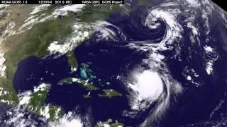 Satellite Sees Hurricane Leslie and Tropical Storm Michael in Atlantic