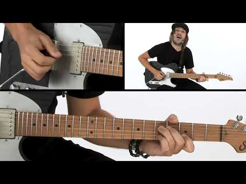 Andy Wood Guitar Lesson - Cross Picking - ShapeShifter
