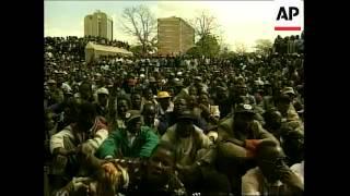 ZIMBABWE: WAR VETERANS LEADER CHENJERAI HUNZVI