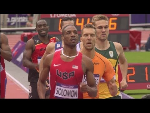 Men's 800m Round 1 Replay - Amos, Rudisha, Kitum - London 2012 Olympics
