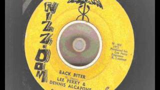 Lee Perry And Dennis Alcapone - Back Biter extended withversion  - Wizz-Dom  - DSR6391A - 1972