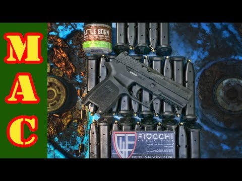 Sig Sauer P320 - 1000 Rounds Fired in 13 Minutes!
