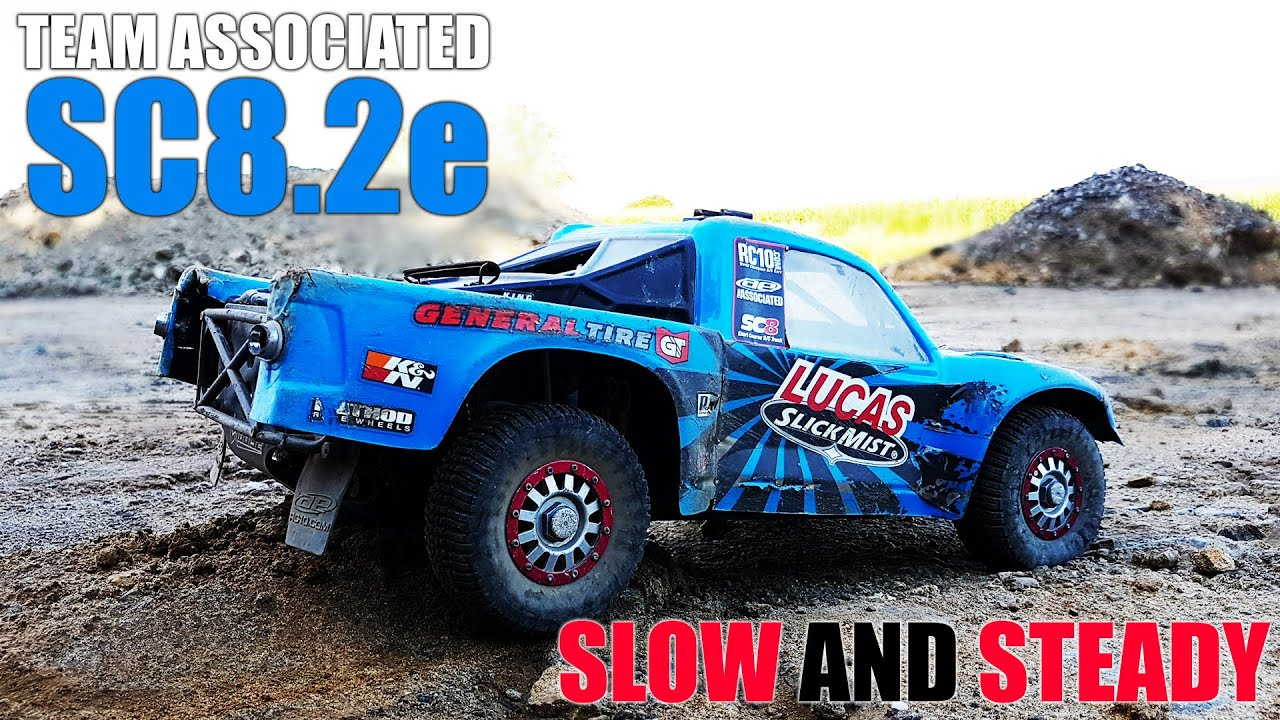 Team Associated Sc8 2e Slow and Steady