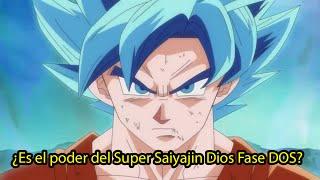 Goku Super Saiyajin DIOS Fase 2 AZUL REVELADO  | Dash Aniston